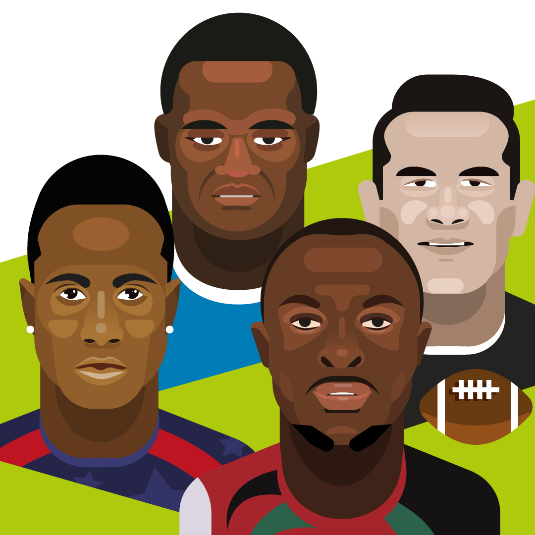 Rugby-a-7_portraits_Sonny-Bill-Williams_Carlin-Isles_Collins-Injera_Virimi-Vakatawa_by_Cedric-Audinot_