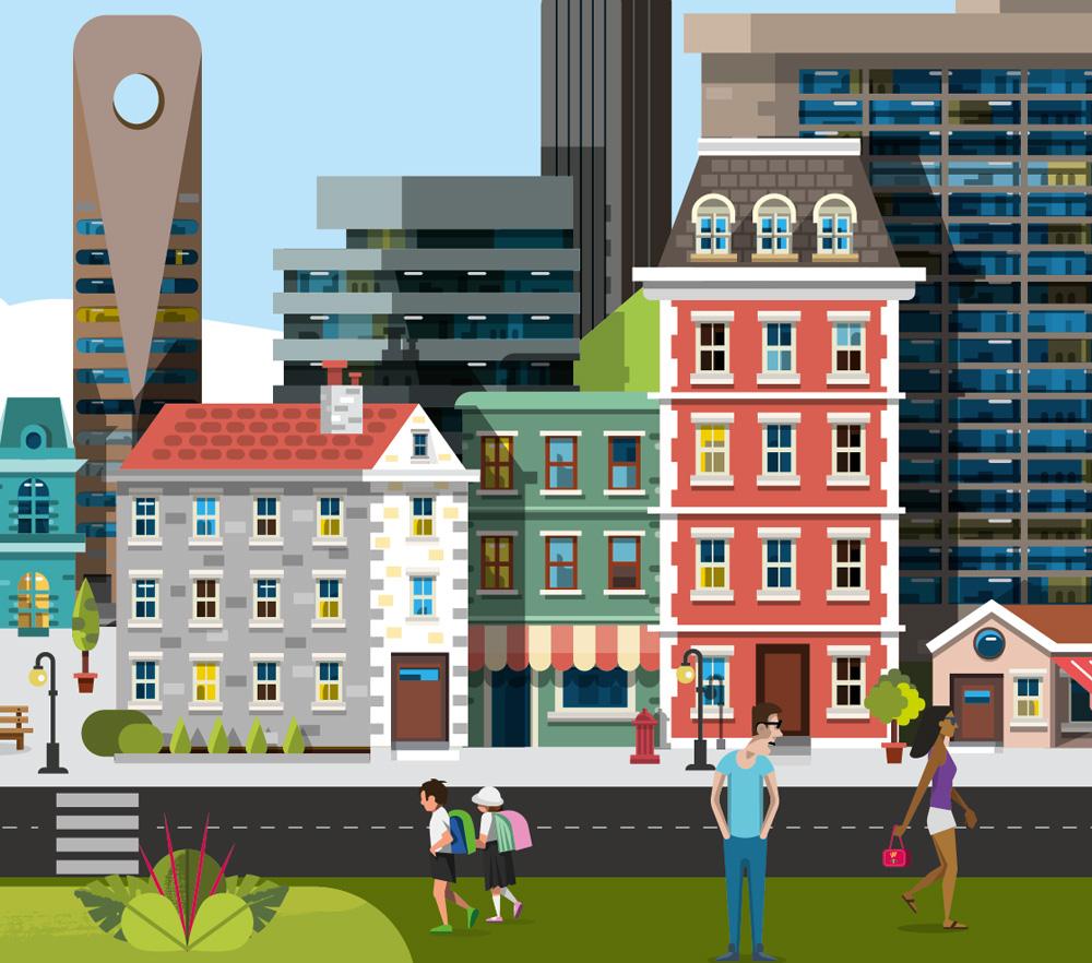 details_illustration_ville_by_Cedric_Audinot_pour_Bouygues-immobilier-Rapport-Activite