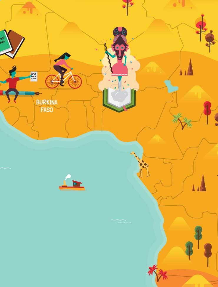 Milan Presse map Afrique