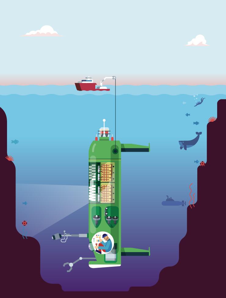 comment ça marche le deep sea challenger